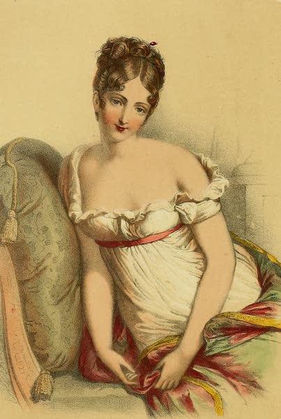 The Court of Napoleon - Madame Recamier (1857)
