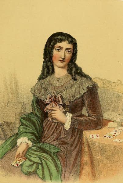 The Court of Napoleon - Mademoiselle Lenormand (1857)