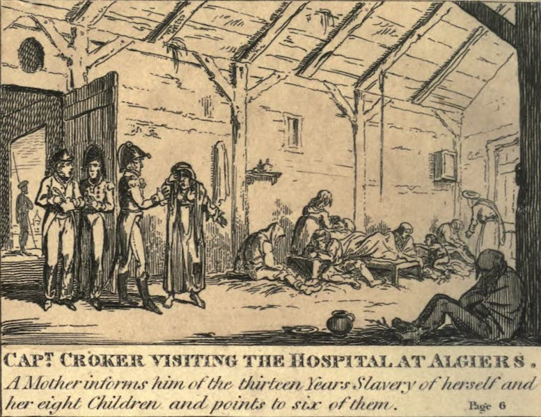 The Cruelties of the Algerine Pirates - Christian Slavery at Algiers (I) (1816)