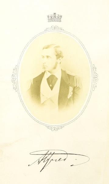 The Cruise of H.M.S. Galatea - Portrait (1869)