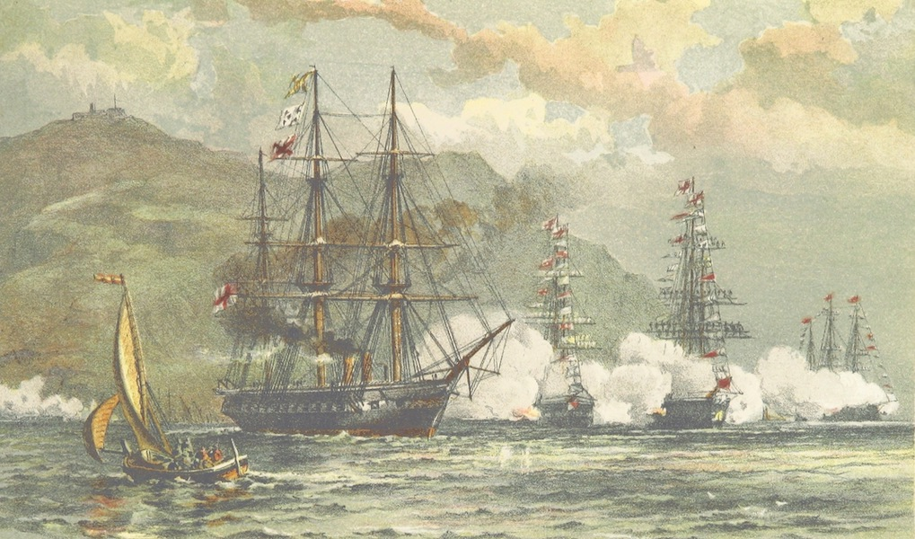 The Cruise of H.M.S. Galatea - Farewell. Gibraltar. 11th June, 1867 (1869)