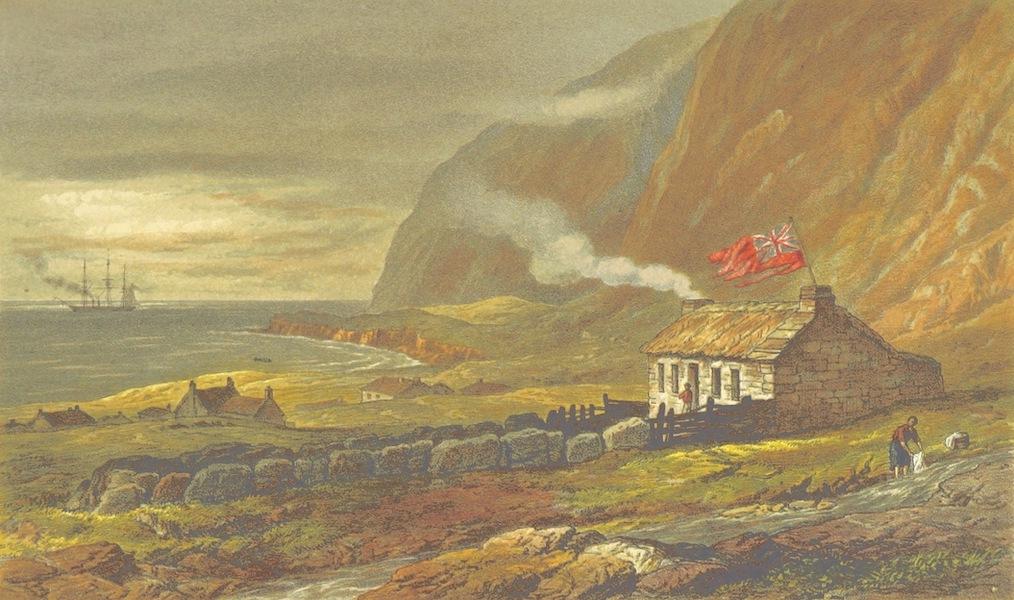 The Cruise of H.M.S. Galatea - Settlement of Edinburgh, Tristan d'Acunha (1869)