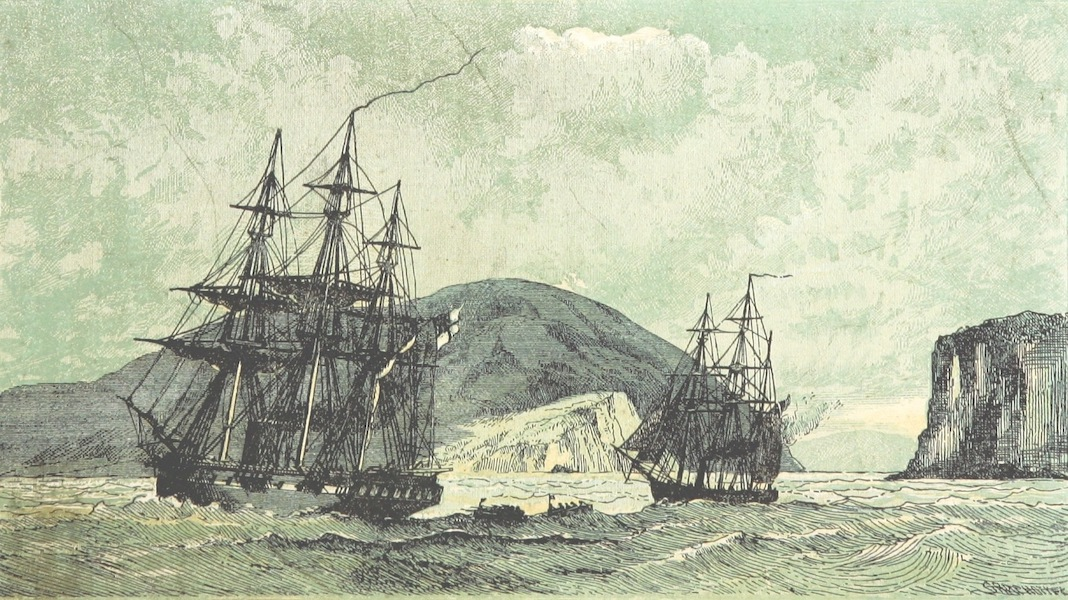 The Cruise of H.M.S. Galatea - H.R.H the Duke of Edinburgh Landing at the Knysna (1869)