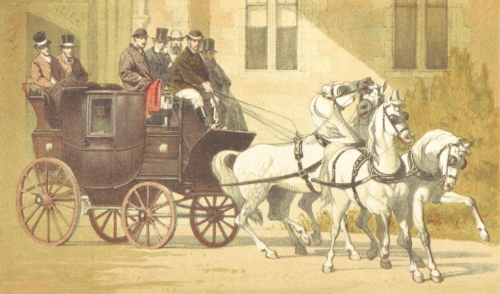 The Cruise of H.M.S. Galatea - H.R.H the Duke of Edinburgh Starting for Launceston. January 10th, 1838 (1869)