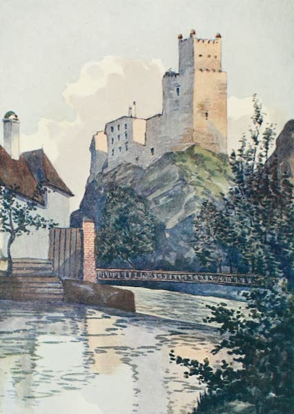 The Danube - Weitenegg Castle from the Weitenbach (1911)