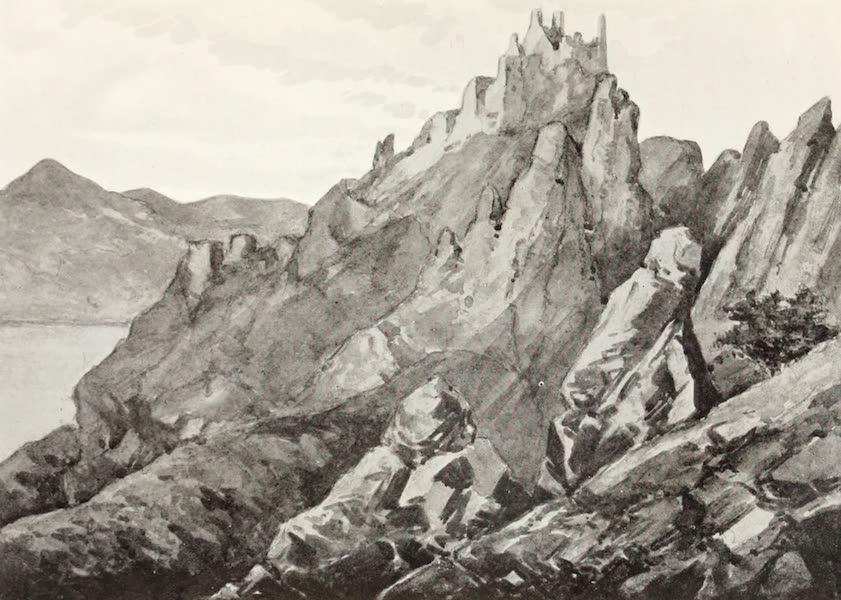 The Danube - Durrenstein Castle (1911)