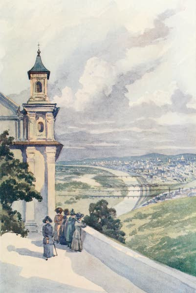The Danube - Vienna from Leopoldsberg (1911)