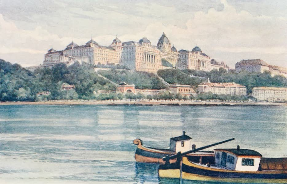 The Danube - The Palace, Budapest (1911)