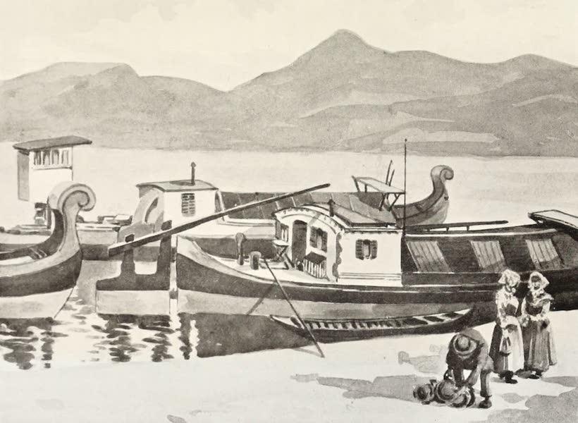 The Danube - Boats from Szegedin (1911)