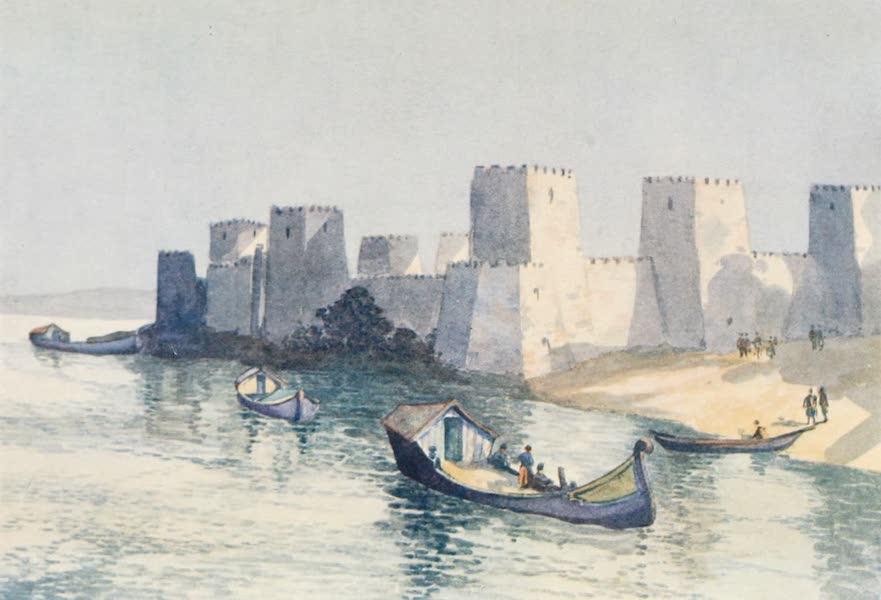 The Danube - Old Turkish Fort, Semendria (1911)