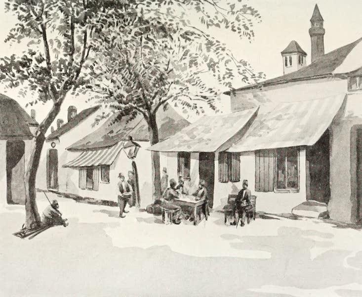 The Danube - A Cafe in Ada Kaleh (1911)