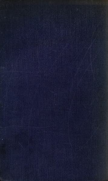 The Danube - Back Cover (1911)