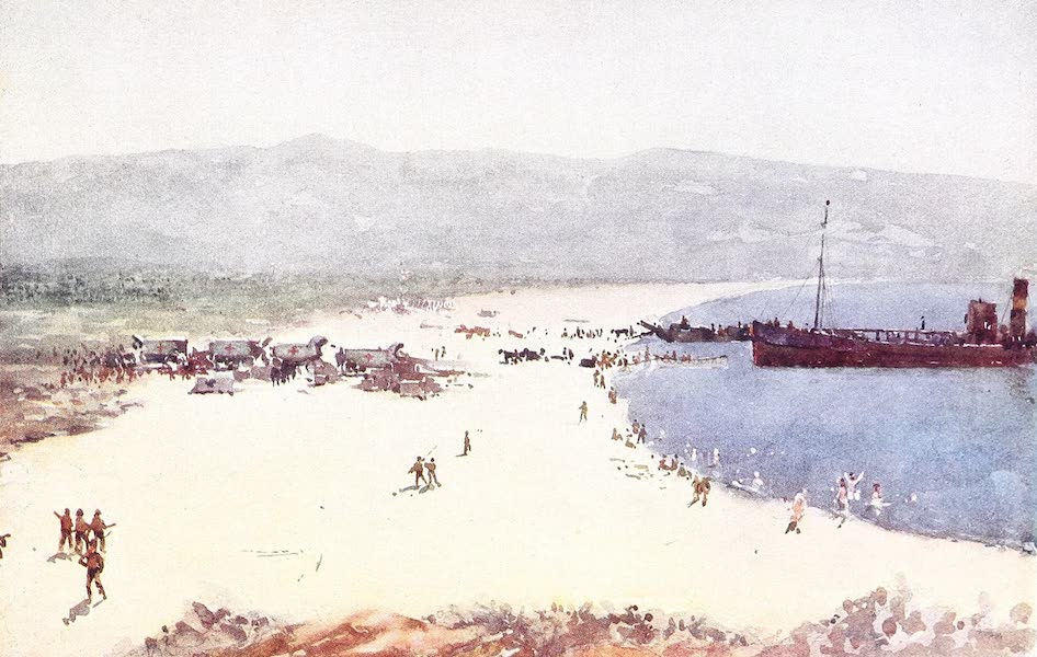 "The Dardanelles : Colour Sketches from Gallipoli - ""C"" Beach, August 8 (1915)"