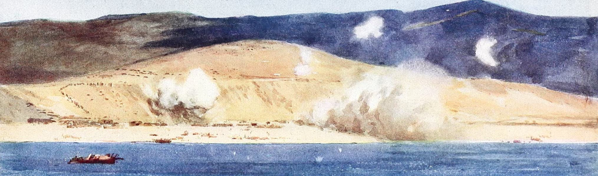 The Dardanelles : Colour Sketches from Gallipoli - Lalla Baba (1915)