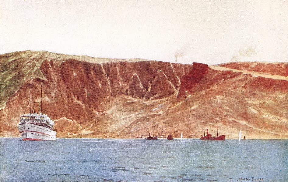 The Dardanelles : Colour Sketches from Gallipoli - Anzac [II] (1915)