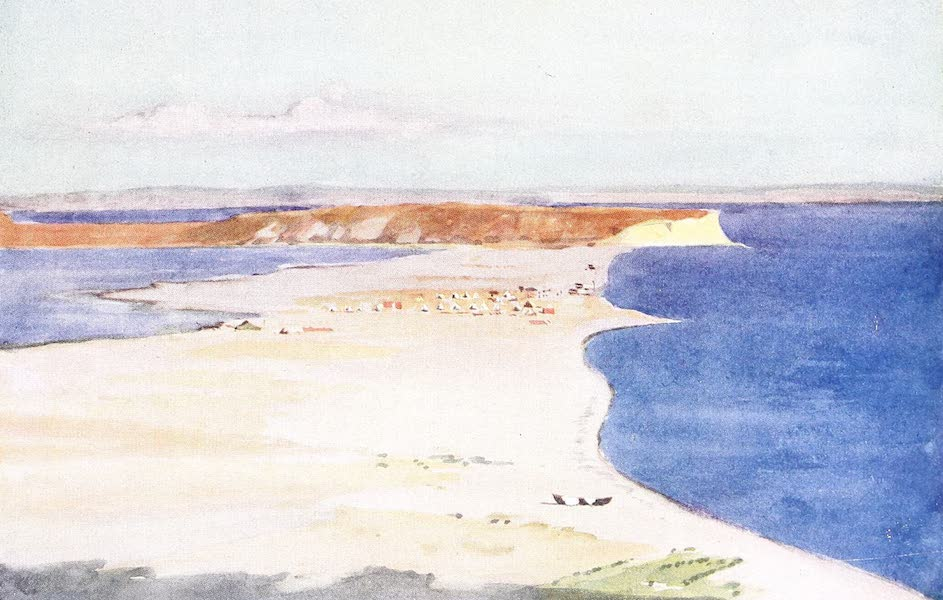 The Dardanelles : Colour Sketches from Gallipoli - Seaplane Base (1915)