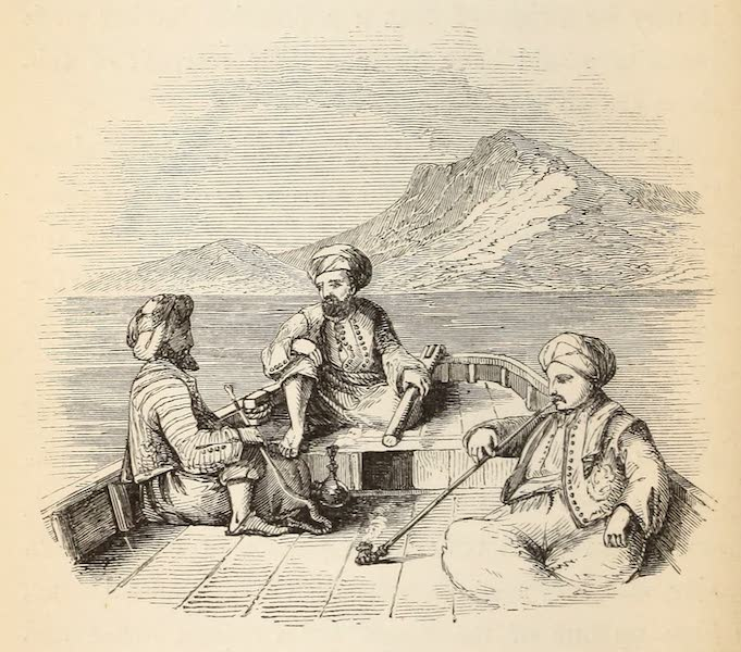 The Dead Sea, a New Route to India Vol. 1 - The Blackboard Captains and Crew (1855)
