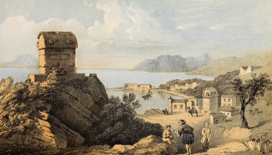 The Dead Sea, a New Route to India Vol. 1 - Antiphellus in Lycia (1855)