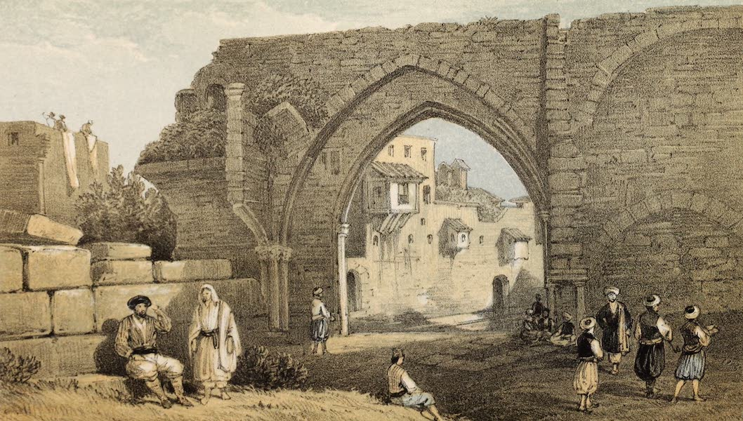 The Dead Sea, a New Route to India Vol. 1 - The Chapter House and Street of the Knights (1855)