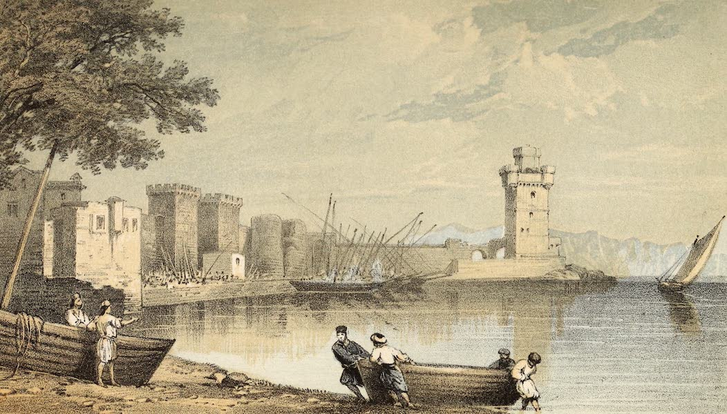 The Dead Sea, a New Route to India Vol. 1 - Liman or Great Harbour in Rhodes (1855)
