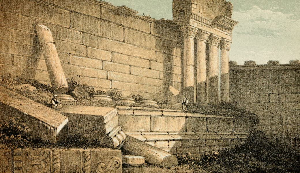 The Dead Sea, a New Route to India Vol. 2 - The Small Temple at Baalbec (1855)
