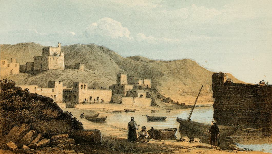 The Dead Sea, a New Route to India Vol. 2 - Gebail, the Ancient Gebala (1855)