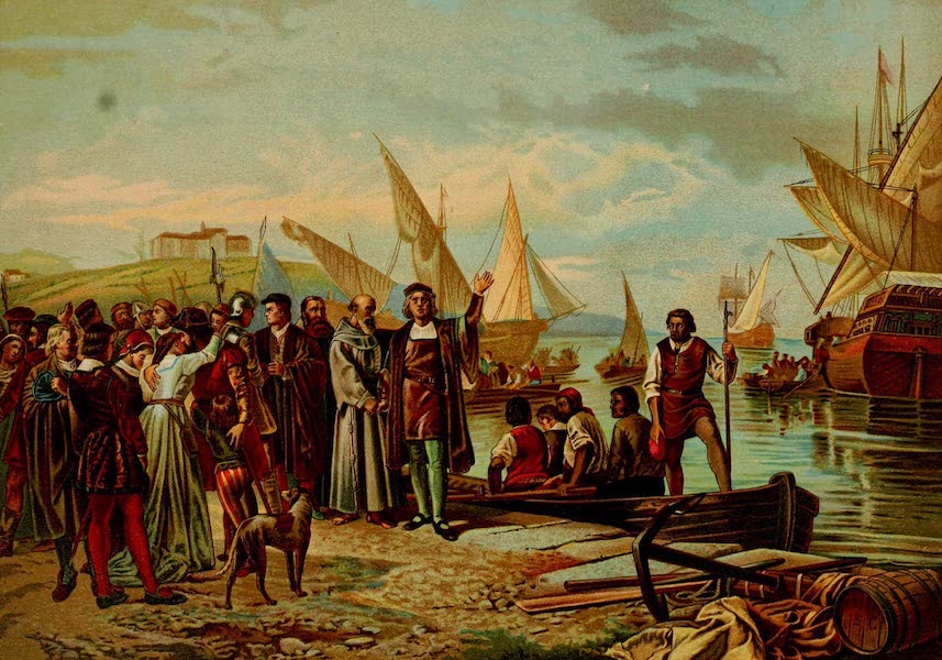 Embarkation and Departure of Columbus from the Port of Palos
