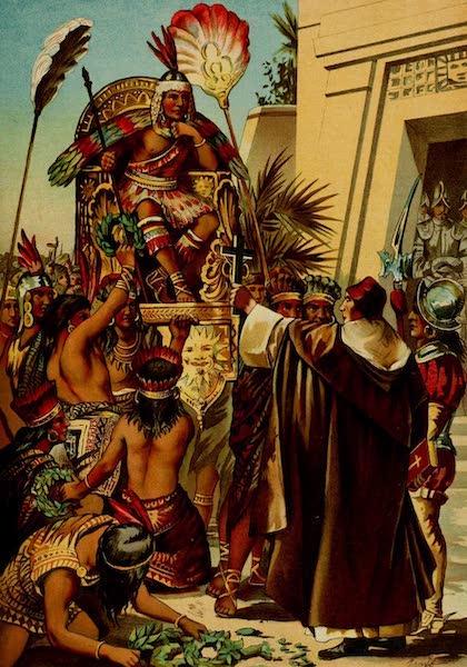Father Valverde Addresses the Inca Atahnalpa