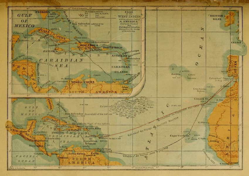 Chart of the West Indies