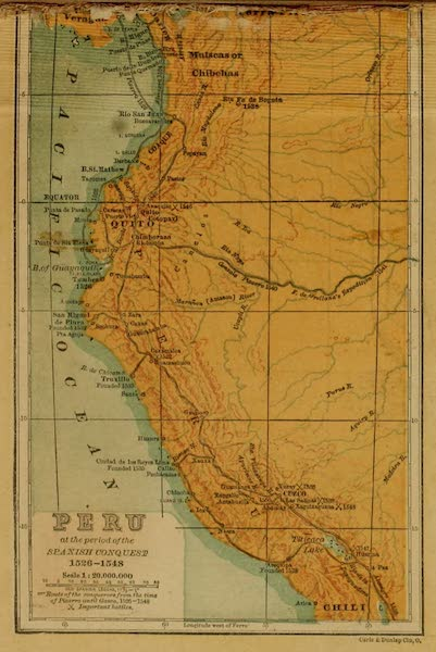 Peru at the Period of the Spanish Conquest 1526-1548