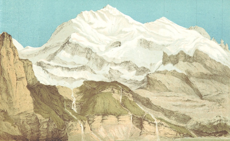 The Doldenhorn and Weisse Frau - The Doldenhorn from the Oeschinenalp (1863)
