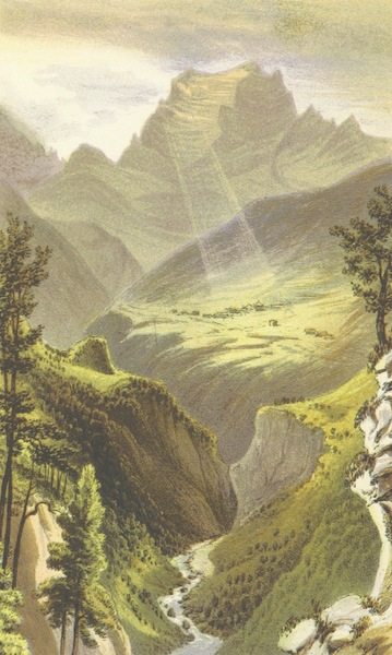 The Dolomite Mountains - Sasso di Pelmo from Monte Zucco (1864)