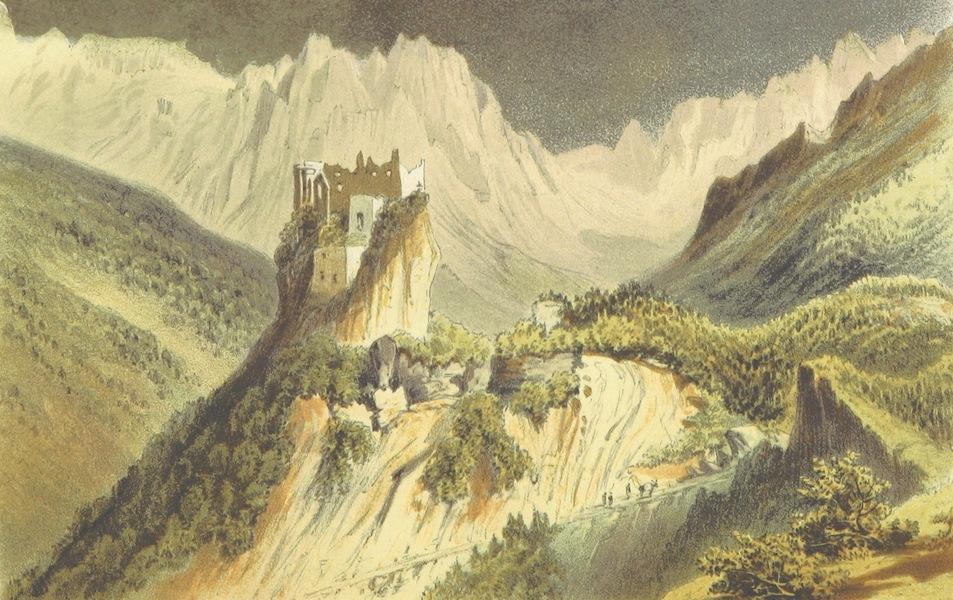 The Dolomite Mountains - Castello Pietra, Primiero (1864)