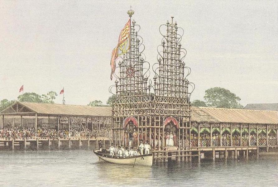 The Duke of Edinburgh in Ceylon - The Landing at Colombo (1871)