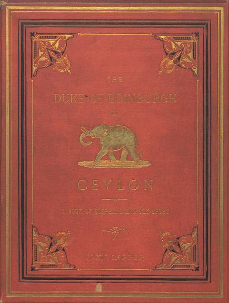 The Duke of Edinburgh in Ceylon - Back Cover (1871)