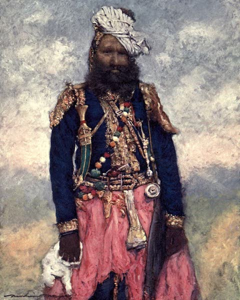 The Durbar - A Retainer from Rajgarh (1903)