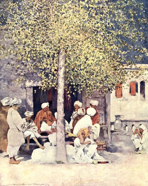 The Durbar - Away from the Show (1903)