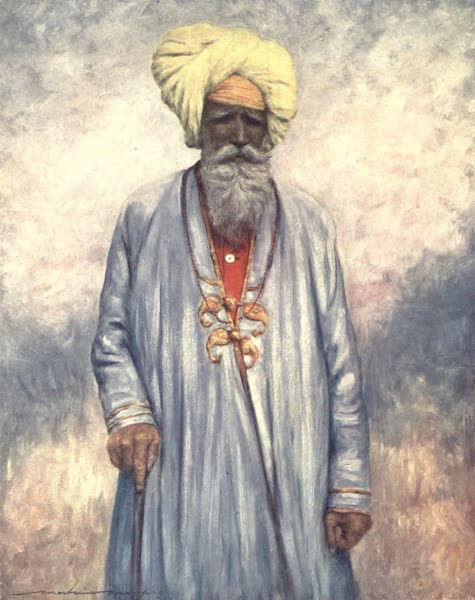 The Durbar - A Retainer of the Maharaja of Cutch (1903)