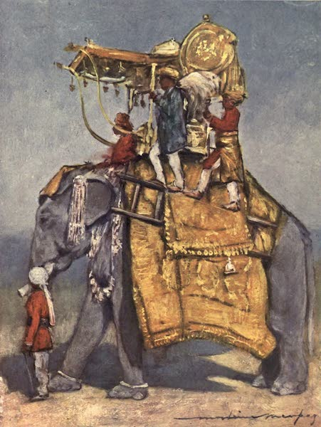 The Durbar - A State Elephant in all its Trappings (1903)