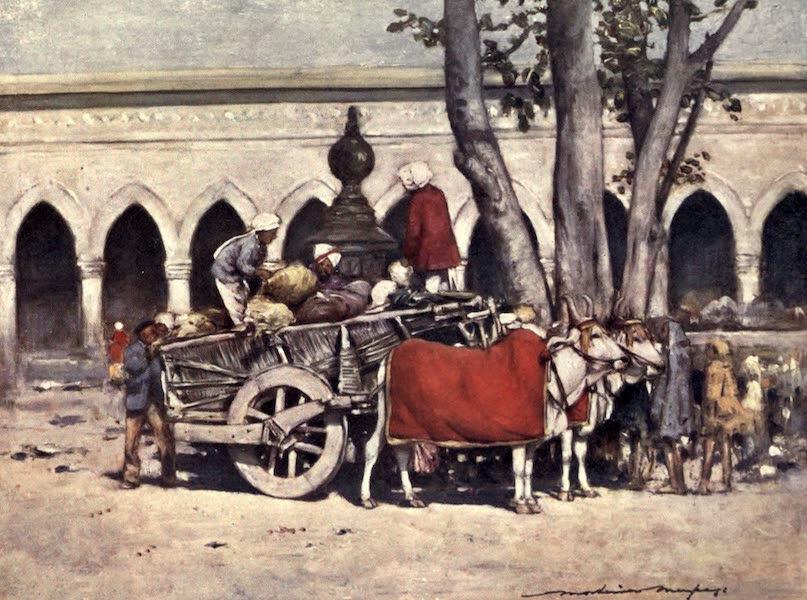 The Durbar - Scene outside the Railway Station during the Delhi Durbar (1903)