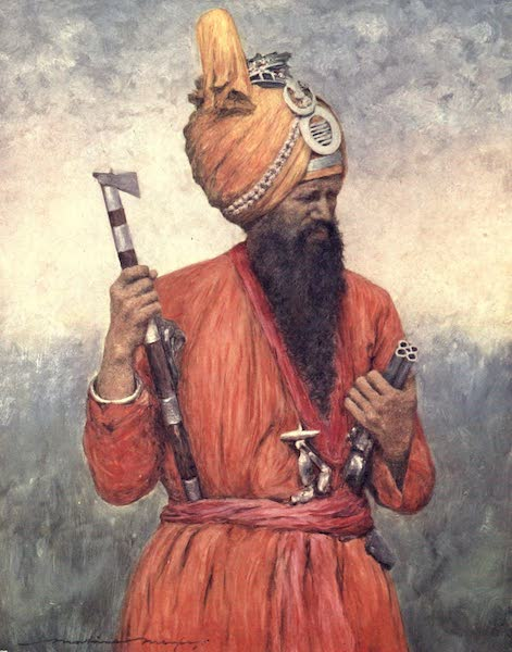 The Durbar - A Retainer from Jind (1903)