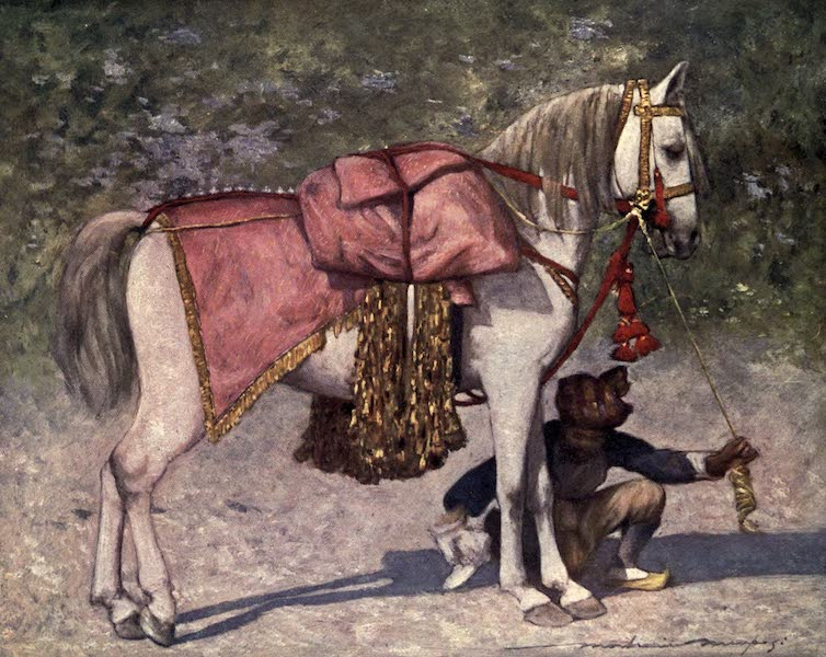 The Durbar - A Famous Led Horse in the Retinue of the Rao of Cutch (1903)