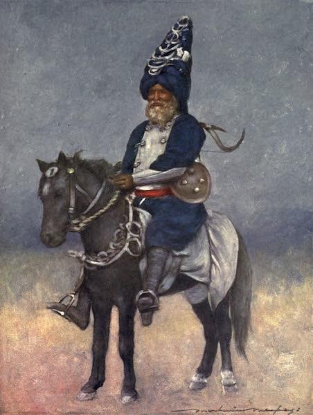 The Durbar - An Akalis Fanatical Devotee (1903)