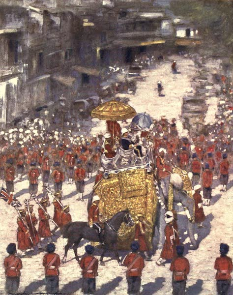 The Durbar - Lord and Lady Curzon entering Delhi (1903)