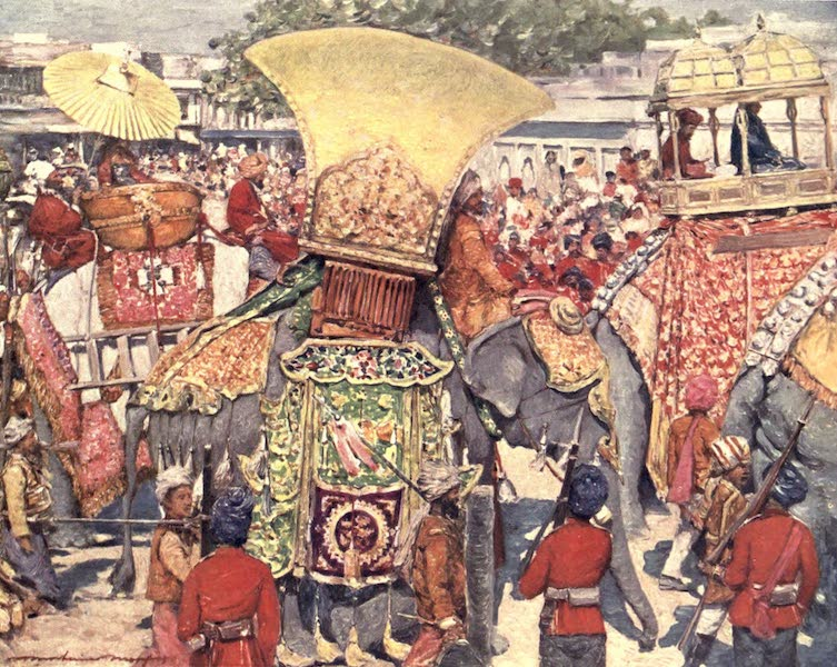 The Durbar - Burmese at the State Elephants Entry (1903)