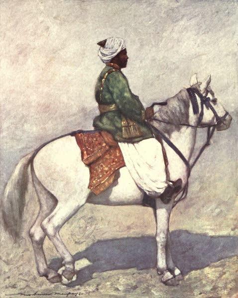 The Durbar - A Pathan Horseman (1903)