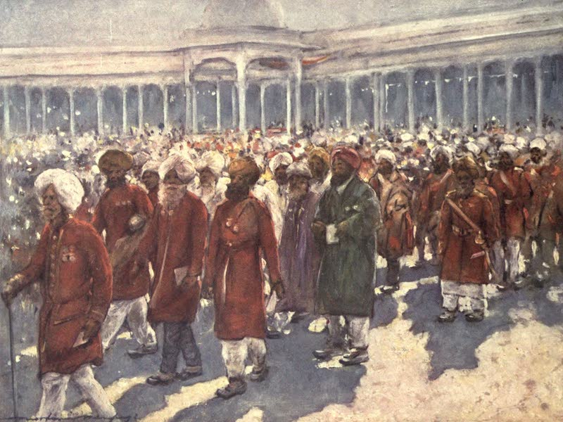 The Durbar - Veterans of the Mutiny on the Great Day (1903)