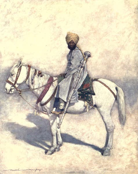 The Durbar - A Mounted Mace-bearer (1903)