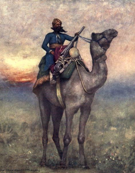 The Durbar - A Swivel-gun Bearer from Rajputana (1903)