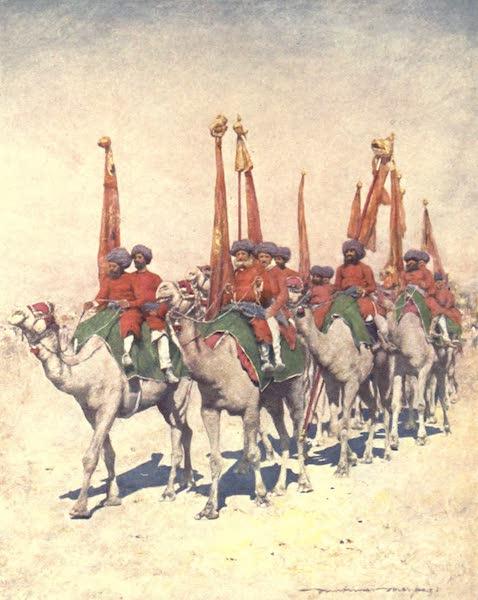 The Durbar - Emblem-bearers of Cutch (1903)